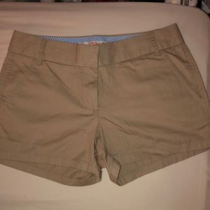 J.crew chino shorts, worn once